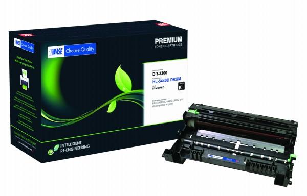 MSE Premium Trommeleinheit (Drum) für Brother HL-5440/5450/5470/6180 Drum - kompatibel mit DR3300