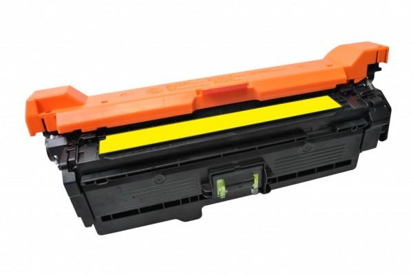 MSE Premium Farb-Toner für HP Color LaserJet CP3525 (504A) Yellow - kompatibel mit CE252A
