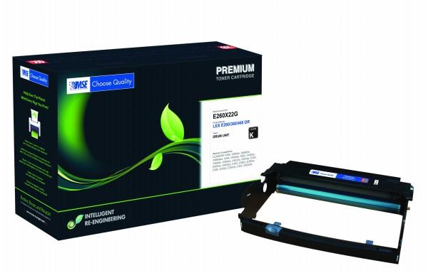 MSE Premium Trommeleinheit (Drum) für Lexmark E260/ E360/ E460 Drum - kompatibel mit E260X22G