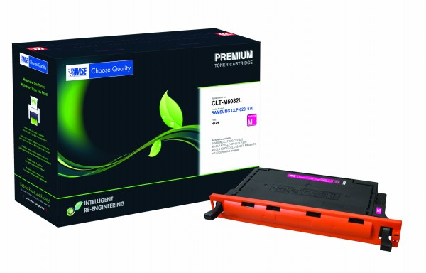 MSE Premium Farb-Toner für Samsung CLP-620/670 Magenta High Yield - kompatibel mit CLT-M5082L/ELS