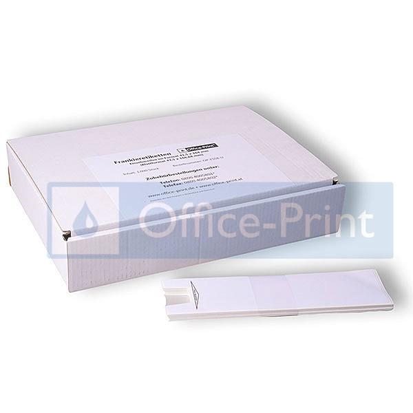 Office-Print Frankieretiketten, selbstklebend, 167 x 44 mm, 1.000 Einzelstreifen