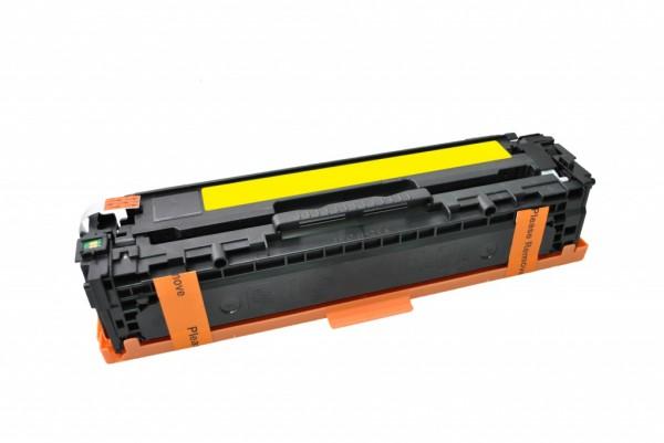 MSE Premium Farb-Toner für HP Color LaserJet CP1525 (128A) Yellow - kompatibel mit CE322A
