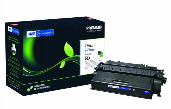 MSE Premium Toner für HP LaserJet P2055 XXL - kompatibel mit CE505X-XXL