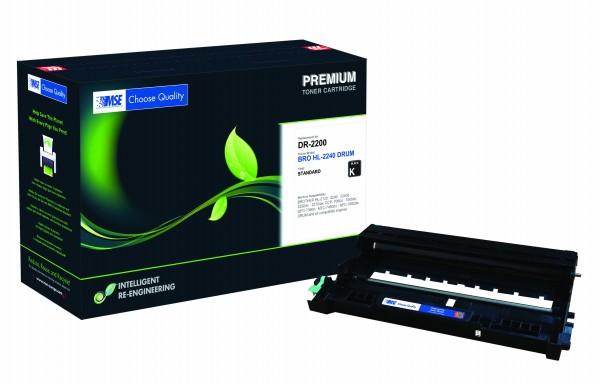 MSE Premium Trommeleinheit (Drum) für Brother HL-2240/2250/2270 Drum - kompatibel mit DR2200