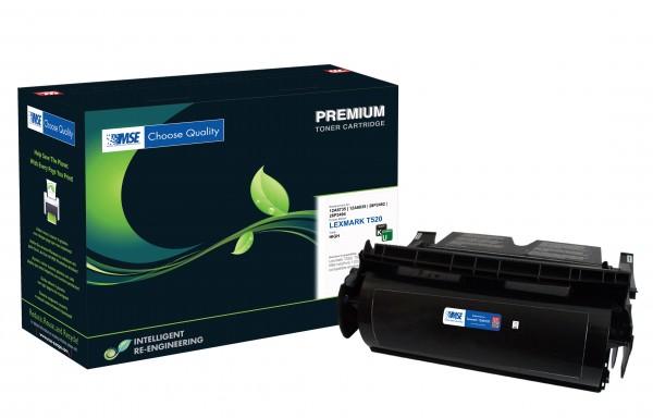 MSE Premium Toner für Lexmark T520/T522 High Yield - kompatibel mit 12A6735