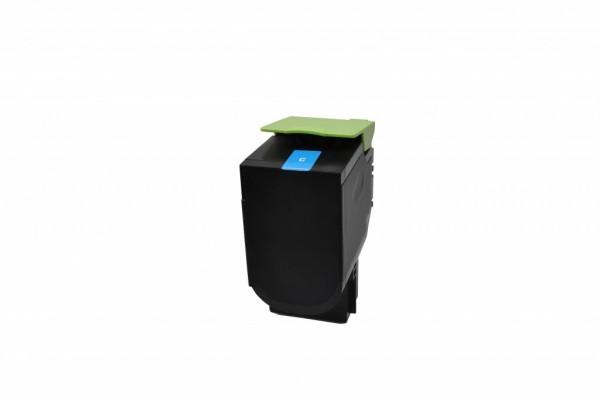 MSE Premium Farb-Toner für Lexmark CS510 Cyan Extra High Yield - kompatibel mit 70C2XC0