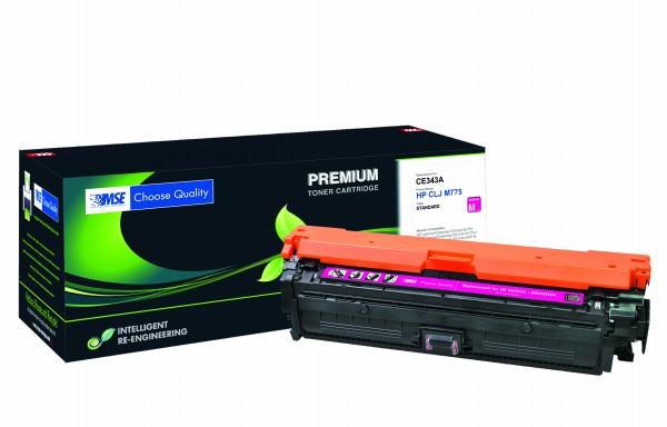 MSE Premium Farb-Toner für HP Color LaserJet M775 (651A) Magenta - kompatibel mit CE343A
