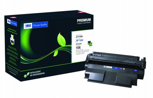 MSE Premium Toner für HP LaserJet 1200 XXL - kompatibel mit C7115X-XXL