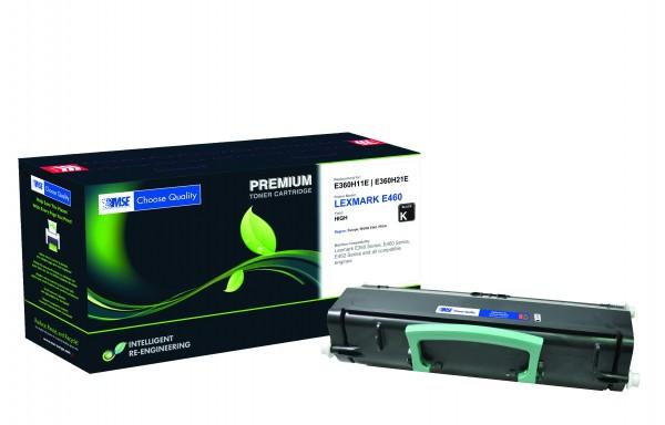 MSE Premium Toner für Lexmark E360 High Yield - kompatibel mit E360H21E