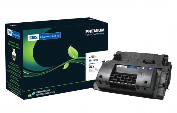 MSE Premium Toner für HP LaserJet P4015/P4515 XXL - kompatibel mit CC364X-XXL