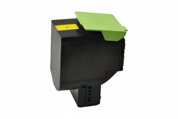 MSE Premium Farb-Toner für Lexmark CS410 Yellow High Yield - kompatibel mit 70C2HY0