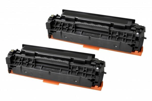 MSE Premium Farb-Toner für Canon I-Sensys LBP-7200/7210/7660/7680 (718BK) Black Twin Pack - kompatib