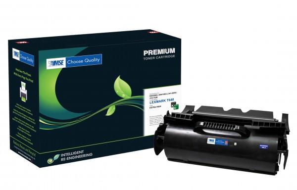 MSE Premium Toner für Lexmark T644 Extra High Yield - kompatibel mit 64436XE