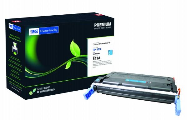 MSE Premium Farb-Toner für HP Color LaserJet 4600 (641A) Cyan - kompatibel mit C9721A