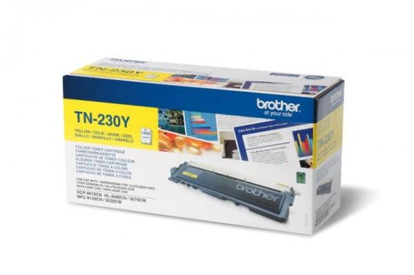 Original Toner Brother TN230Y