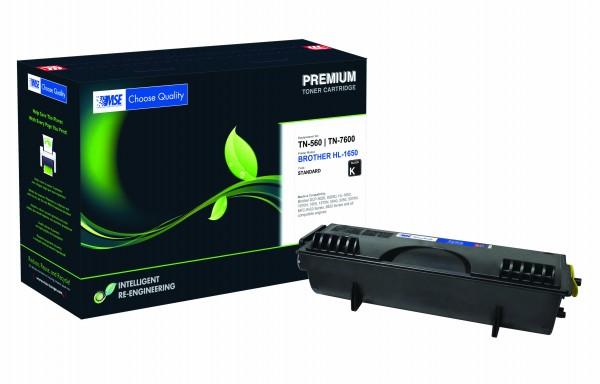 MSE Premium Toner für Brother HL-1650/1670 - kompatibel mit TN7600