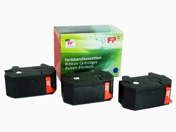 Original Farbbandkassettenset für Francotyp-Postalia T1000 / Optimail
