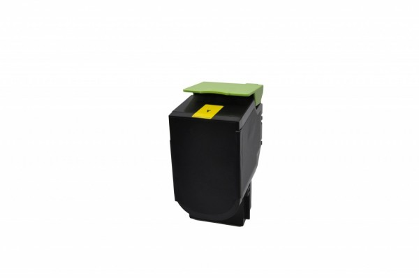 MSE Premium Farb-Toner für Lexmark CS510 Yellow Extra High Yield - kompatibel mit 70C2XY0