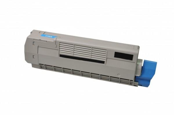 MSE Premium Farb-Toner für Oki C612 Cyan - kompatibel mit 46507507
