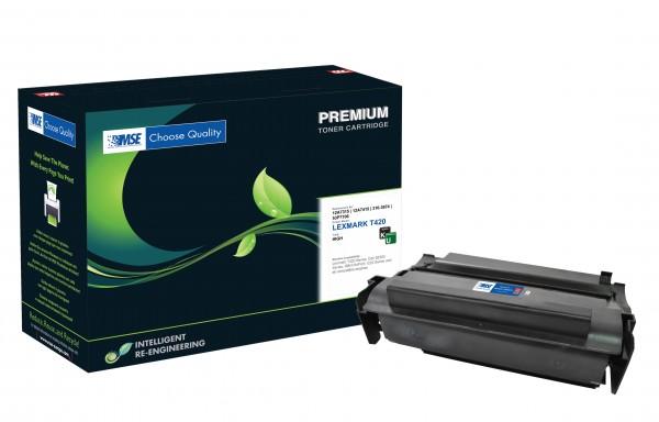 MSE Premium Toner für Lexmark T420 High Yield - kompatibel mit 12A7315