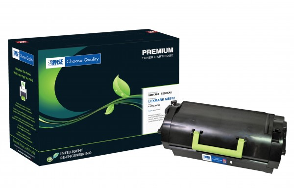 MSE Premium Toner für Lexmark MS811 Extra High Yield - kompatibel mit 52D2X00
