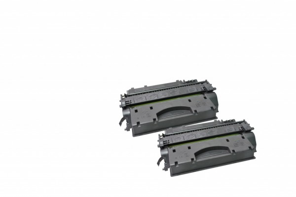 MSE Premium Toner für HP LaserJet M401 (80X) High Yield Twin Pack - kompatibel mit CF280XD