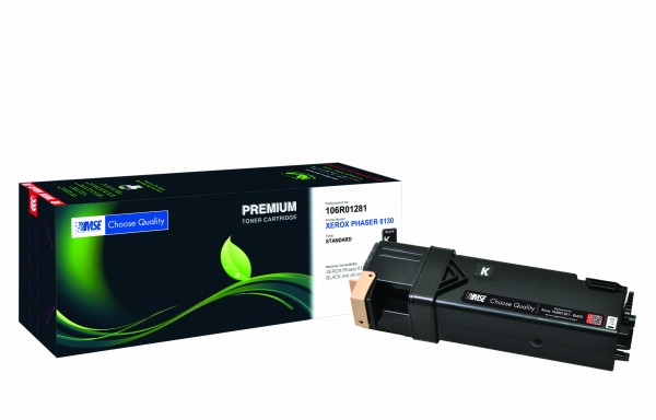 MSE Premium Farb-Toner für Xerox Phaser 6130 Black