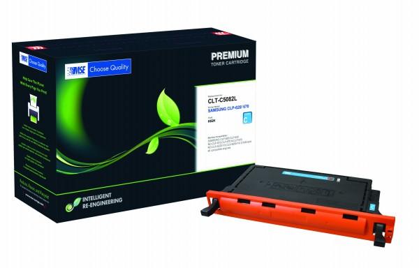 MSE Premium Farb-Toner für Samsung CLP-620/670 Cyan High Yield - kompatibel mit CLT-C5082L/ELS