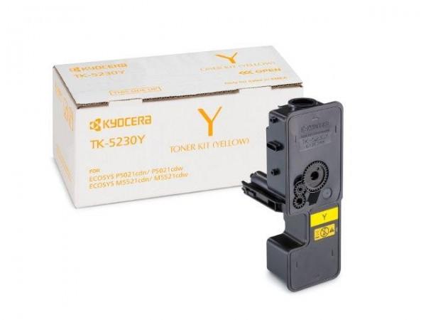 Original Toner Kyocera 1T02R9ANL0 / TK-5230Y