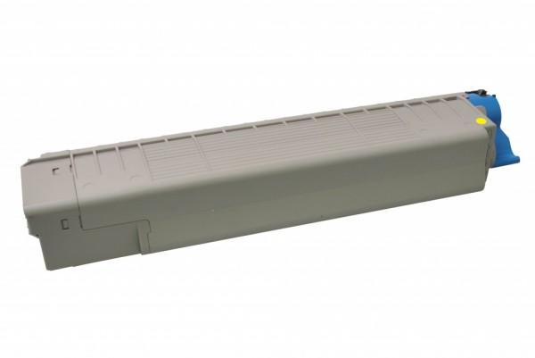MSE Premium Farb-Toner für Oki MC851 Yellow - kompatibel mit 44059165