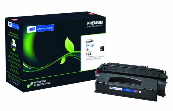 MSE Premium Toner für HP LaserJet 1320 (49X) High Yield - kompatibel mit Q5949X