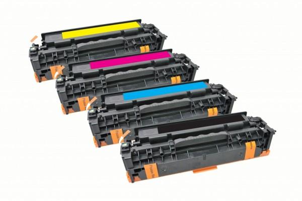 MSE Premium Farb-Toner für HP Color LaserJet Pro M451 CMYK Multipack - kompatibel mit CE410X/11A/12A