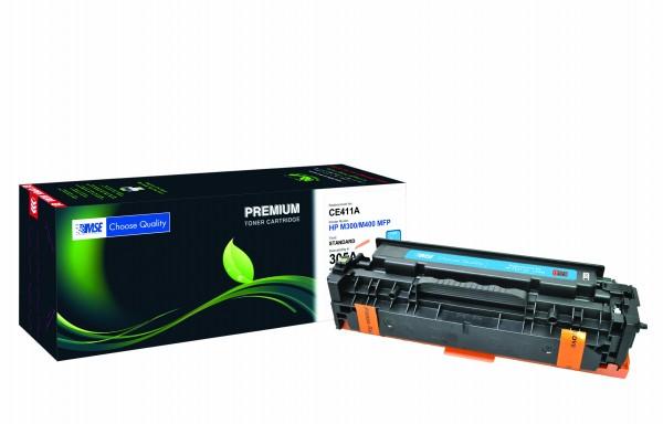 MSE Premium Farb-Toner für HP Color LaserJet M451 (305A) Cyan - kompatibel mit CE411A