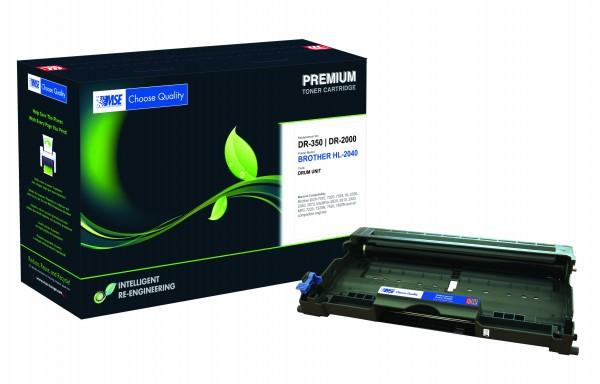 MSE Premium Trommeleinheit (Drum) für Brother HL-2030/2040/2070N Drum - kompatibel mit DR2000