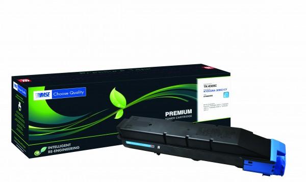 MSE Premium Farb-Toner für Kyocera TASKalfa 3050/3051/3550/3551 Cyan - kompatibel mit TK-8305C