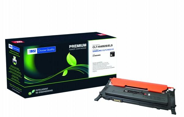 MSE Premium Farb-Toner für Samsung CLP-310/315 Black - kompatibel mit CLT-K4092S/ELS