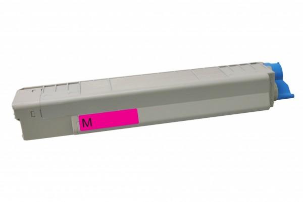 MSE Premium Farb-Toner für Oki C801/C821 Magenta - kompatibel mit 44643002