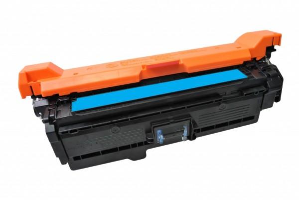 MSE Premium Farb-Toner für HP Color LaserJet CP3525 (504A) Cyan - kompatibel mit CE251A