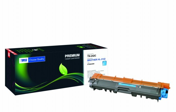 MSE Premium Farb-Toner für Brother HL-3142/3152/3172 Cyan - kompatibel mit TN242C
