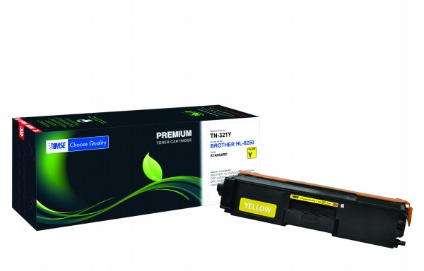 MSE Premium Farb-Toner für Brother HL-L8250/L8350 Yellow - kompatibel mit TN321Y