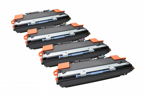 MSE Premium Farb-Toner für HP Color LaserJet 3500 CMYK Multipack - kompatibel mit Q2670A/71A/72A/73A