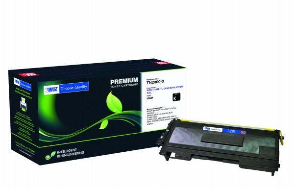 MSE Premium Toner für Brother HL-2030/2040/2070N XXL - kompatibel mit TN2000-XXL