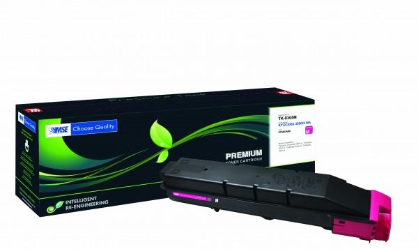 MSE Premium Farb-Toner für Kyocera TASKalfa 3050/3051/3550/3551 Magenta - kompatibel mit TK-8305M
