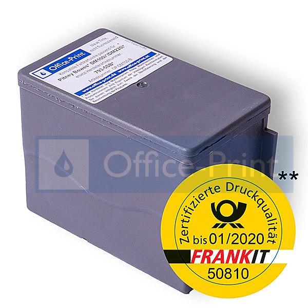 Kompatible Farbkartusche passend für Frankiermaschine Pitney Bowes DM100i / DM220i
