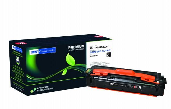 MSE Premium Farb-Toner für Samsung CLP-415 Black - kompatibel mit CLT-K504S/ELS