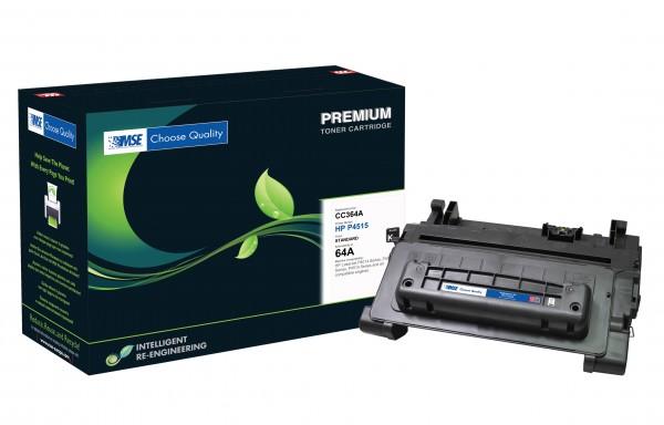 MSE Premium Toner für HP LaserJet P4014/P4015 (64A) - kompatibel mit CC364A