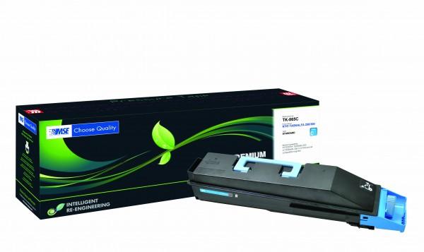 MSE Premium Farb-Toner für Kyocera TASKalfa 250/300CI Cyan - kompatibel mit TK-865C
