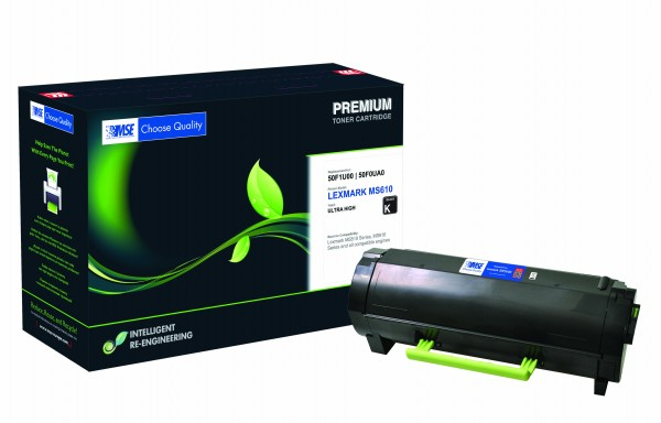 MSE Premium Toner für Lexmark MS610 Ultra High Yield - kompatibel mit 50F2U00