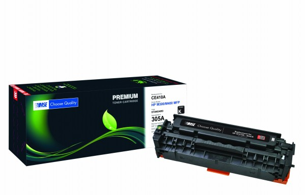 MSE Premium Farb-Toner für HP Color LaserJet M451 (305A) Black - kompatibel mit CE410A