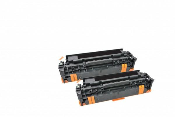 MSE Premium Farb-Toner für HP Color LaserJet M451 (305X) Black High Yield Twin Pack - kompatibel mit